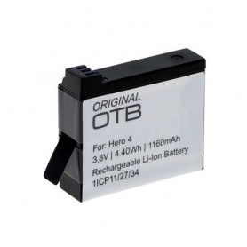 OTB, Battery for GoPro Hero4 Li-Ion 1160mAh, GoPro photo-video batteries, ON1161, EtronixCenter.com