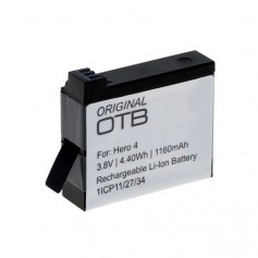 Battery for GoPro Hero4 Li-Ion 1160mAh