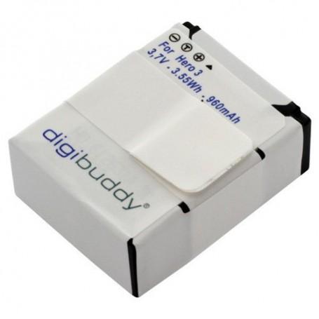 digibuddy, Battery for GoPro Hero3 / Hero3+ Li-Ion 960mAh, GoPro photo-video batteries, ON1169, EtronixCenter.com