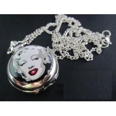 Marilyn Monroe Pocket Watch Chain Watch ZN012