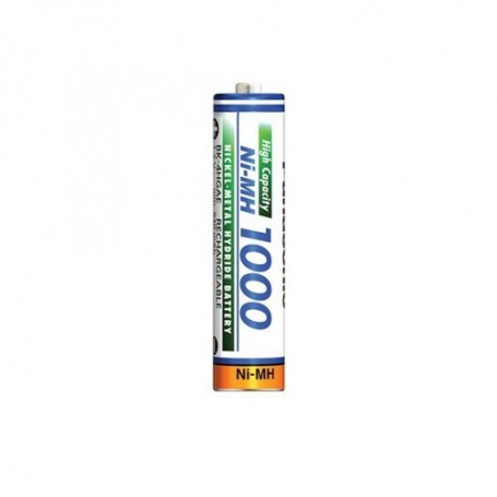 Panasonic - Panasonic 1000mAh AAA Rechargeable Battery NiMH - Size AAA - ON1321-CB www.NedRo.us