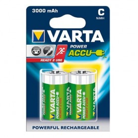 Varta - Varta Reachargable Baby C 3000mAh - Size C D and XL - ON1328-CB