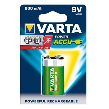 Varta - Varta Rechargable Battery 9V E-Block 200mAh - Other formats - BS261-CB www.NedRo.us