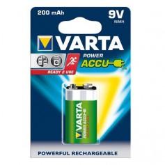 Varta 9V E-Block 200mAh Rechargeable Battery