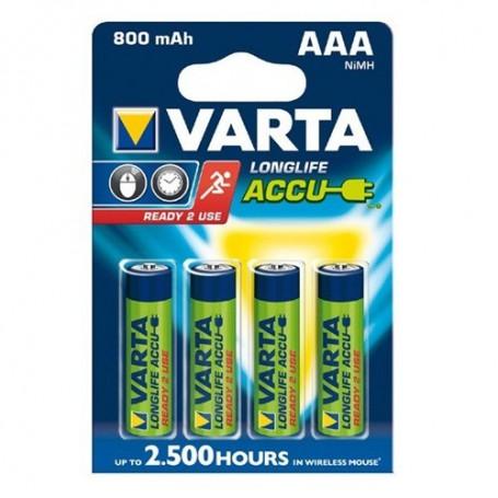 Varta, Varta Rechargable Battery AAA HR3 800mAh, Size AAA, ON1331-CB