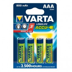 Varta, Varta Rechargable Battery AAA HR3 800mAh, Size AAA, ON1331-CB