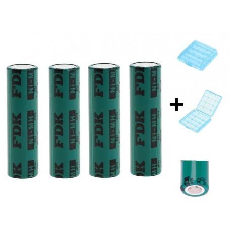 FDK - FDK HR AAAU Battery NiMH 1,2V 730mAh bulk - 4 Pieces - Other formats - ON1344-CB