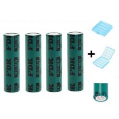 FDK HR AAAU Battery NiMH 1,2V 730mAh bulk - 4 Pieces