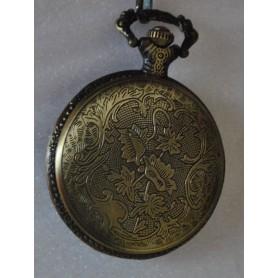 Unbranded, Fish Fishing Vintage Bronze Quartz Pocket Watch, Watch actions, ZN046