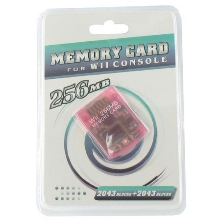 NedRo, 256 MB Memory Card for Nintendo Wii YGF007, Nintendo Wii, YGF007, EtronixCenter.com