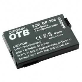 OTB, Battery for Canon BP-208 Li-Ion ON1391, Canon photo-video batteries, ON1391