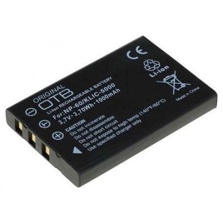 OTB - Battery for Fuji NP-60 1000mAh Li-Ion ON1397 - Fujifilm photo-video batteries - ON1397