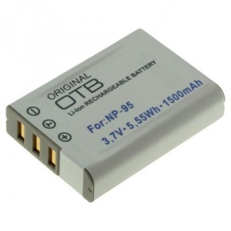 OTB - Battery for Fuji NP-95 Li-Ion 1500mAh - Fujifilm photo-video batteries - ON1401