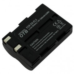 Battery for Nikon EN-EL3 Li-Ion 1400mAh