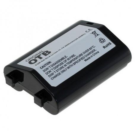 OTB - Battery for Nikon EN-EL4 / EN-EL4a Li-Ion 2600mAh - Nikon photo-video batteries - ON1416 www.NedRo.us