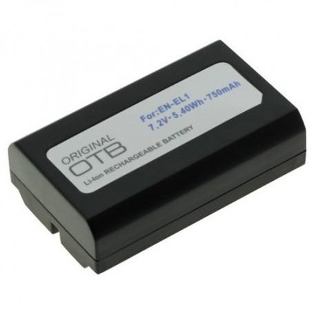 OTB - Battery for Nikon EN-EL1 / Konica Minolta NP-800 750mAh - Nikon photo-video batteries - ON1418 www.NedRo.us
