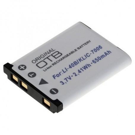 OTB - Battery for Olympus LI-40B/Nikon EN-EL10/Fuji NP-45 - Olympus photo-video batteries - ON1423 www.NedRo.us