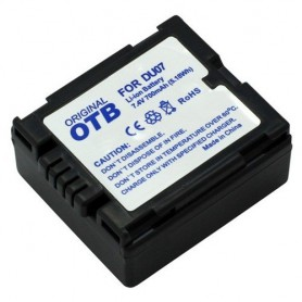 OTB, Battery for Panasonic CGA-DU7 Li-Ion ON1424, Olympus photo-video batteries, ON1424, EtronixCenter.com
