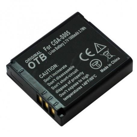 OTB, Battery for Panasonic CGA-S005/Ricoh DB-60/Fuji NP-70 ON1430, Panasonic photo-video batteries, ON1430, EtronixCenter.com