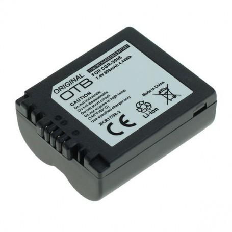 OTB, Battery for Panasonic CGR-S006 600mAh Li-Ion, Panasonic photo-video batteries, ON1431, EtronixCenter.com
