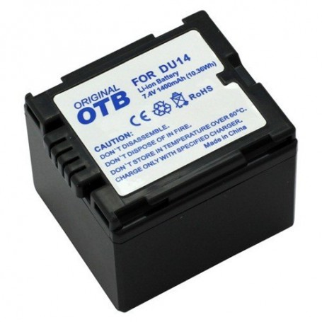 OTB, Battery for Panasonic CGA-DU14 Li-Ion ON1432, Panasonic photo-video batteries, ON1432, EtronixCenter.com