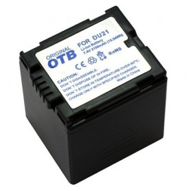 OTB, Battery for Panasonic CGA-DU21 Li-Ion ON1435, Panasonic photo-video batteries, ON1435, EtronixCenter.com