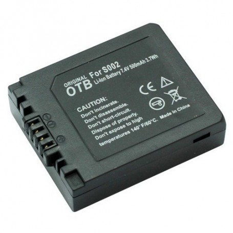 OTB - Battery for Panasonic DMW-BM7 / CGA-S002 ON1436 - Panasonic photo-video batteries - ON1436 www.NedRo.us
