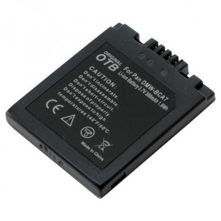 OTB - Battery for Panasonic DMW-BCA7 Li-Ion ON1437 - Panasonic photo-video batteries - ON1437