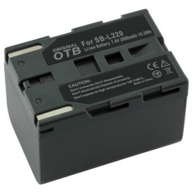 Battery for Panasonic Samsung SB-L220 Li-Ion ON1439