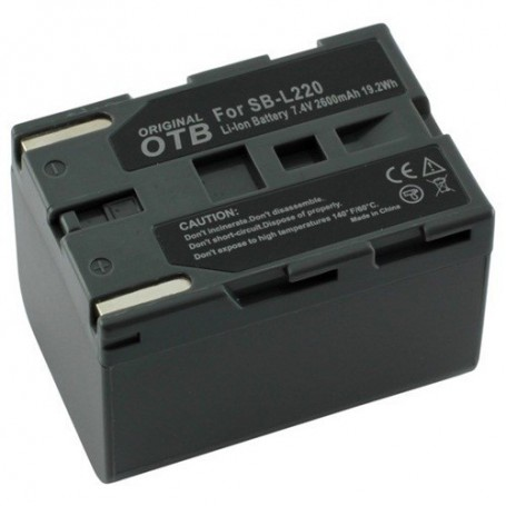 OTB, Battery for Panasonic Samsung SBL-SM160 ON1440, Panasonic photo-video batteries, ON1440, EtronixCenter.com