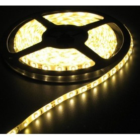 NedRo, 5M Warm White 60LED/M IP65 White PCB SMD3528 AL043, LED Strips, AL043-CB