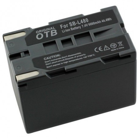 OTB - Battery for Samsung SB-L480 Li-Ion 6000mAh - Samsung photo-video batteries - ON1445 www.NedRo.us