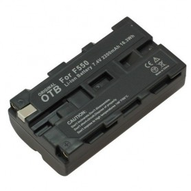 OTB - Battery for Sony NP-F550 2200mAh Li-Ion - Sony photo-video batteries - ON1448 www.NedRo.us