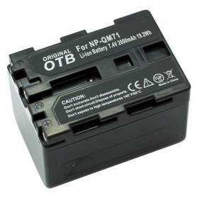 OTB, Battery for Sony NP-QM71 Li-Ion 2600mAh, Sony photo-video batteries, ON1452, EtronixCenter.com