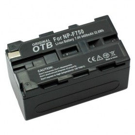 OTB, Battery for Sony NP-F750 Li-Ion 4400mAh, Sony photo-video batteries, ON1456, EtronixCenter.com