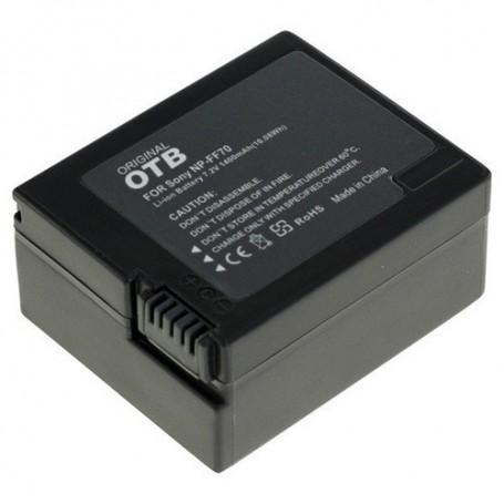 OTB - Battery for Sony NP-FF70 Li-Ion 1400mAh - Sony photo-video batteries - ON1459