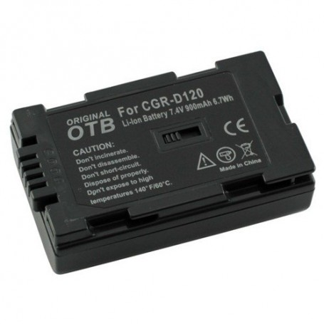 OTB, Battery for Panasonic CGR-D120 Li-Ion ON1470, Panasonic photo-video batteries, ON1470, EtronixCenter.com