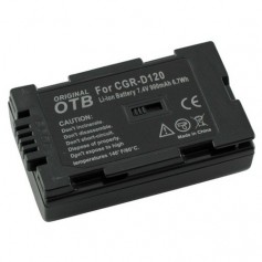 OTB - Battery for Panasonic CGR-D120 Li-Ion ON1470 - Panasonic photo-video batteries - ON1470