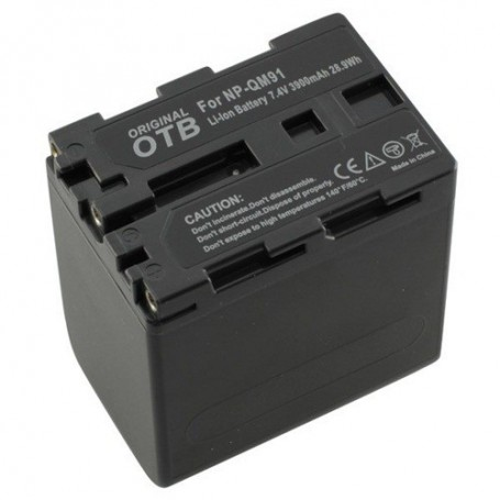 OTB - Battery for Sony NP-QM91 Li-Ion ON1474 - Sony photo-video batteries - ON1474