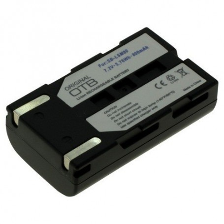 OTB - Battery for Samsung SBL-SM80 Li-Ion 800mAh - Samsung photo-video batteries - ON1482