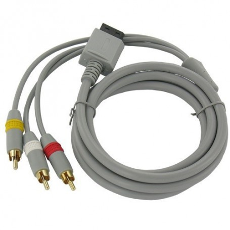 Oem - Wii AV cable with 3 RCA plugs - Nintendo Wii - YGN598