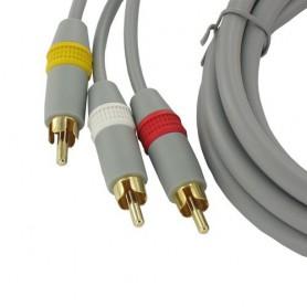 NedRo, Wii AV cable with 3 RCA plugs, Nintendo Wii, YGN598