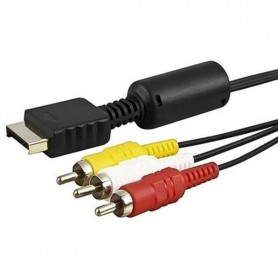Oem - AV Audio-Video Cable for Playstation 1 2 & 3 YGP204 - PlayStation 2 - YGP204