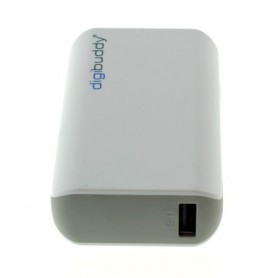 NedRo, 4400mAh PowerBank Power Station DB-4410 Li-Ion White, Powerbanks, ON1602, EtronixCenter.com