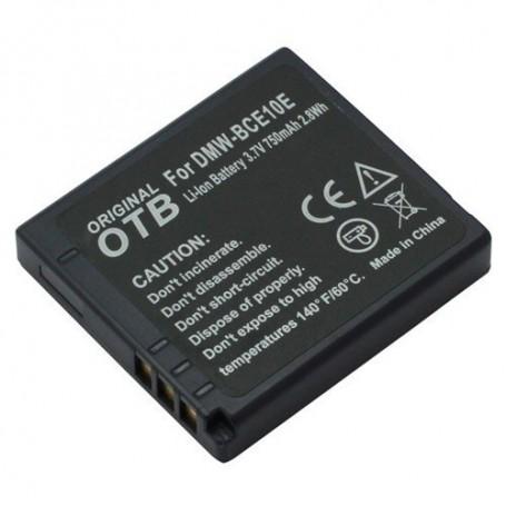 OTB - Battery for Panasonic DMW-BCE10E/CGA-S008/Ricoh DB-70 ON1539 - Panasonic photo-video batteries - ON1539
