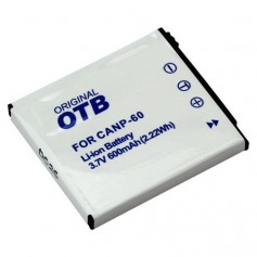 OTB - Battery for Casio NP-60 Li-Ion - Casio photo-video batteries - ON1553