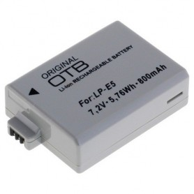 OTB, Battery for Canon LP-E5 Li-Ion, Canon photo-video batteries, ON1581