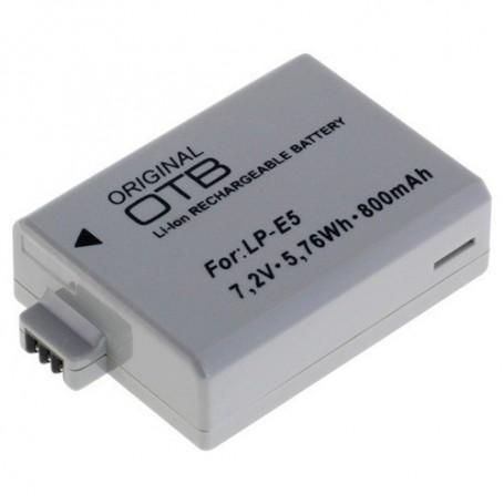 OTB - Battery for Canon LP-E5 Li-Ion - Canon photo-video batteries - ON1581