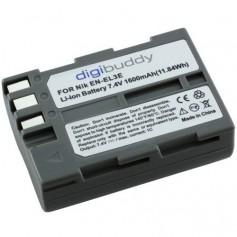 Battery for Nikon EN-EL3e Li-Ion 1600mAh