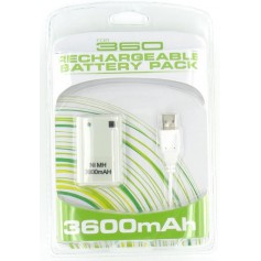 unbranded, Battery + Charger for XBOX 360, Xbox 360 cables & batteries, YGX523-CB